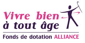 Logo pour le fond de dotation Alliance
